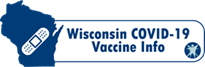 Image link to Wisconsin Department of Health Services (DHS) COVID-19 Vaccine Information