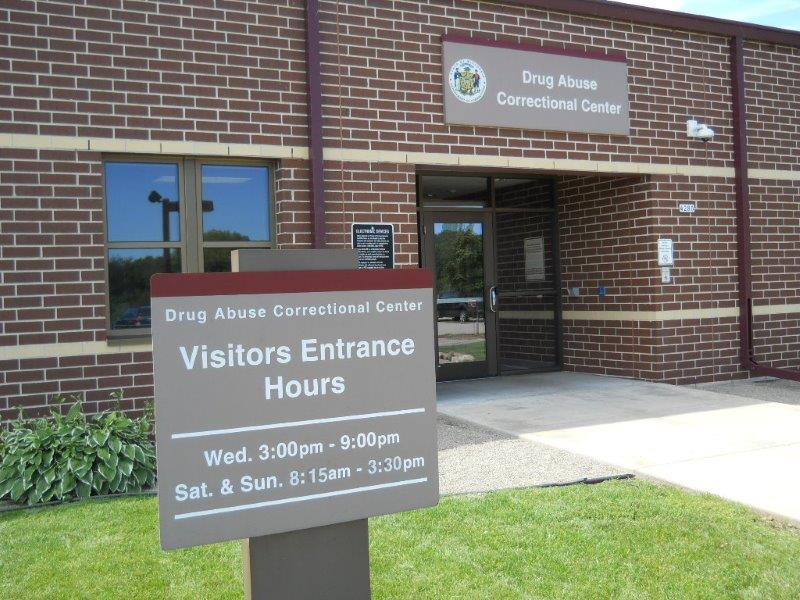 Visitor's Entrance to DACC (Drug Abuse Correctional Center